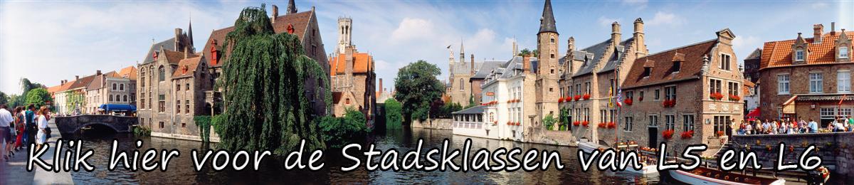 Brugge panorama foto